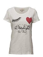 Valerie T-shirt - CHALK
