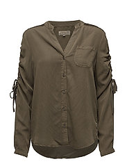 Paisley Shirt - CROCODILE GREEN