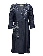 Felicia dress - DARK NAVY