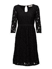 Faly Dress - PITCH BLACK