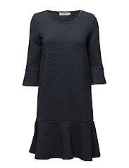 Zenia dress - GREY BLUE