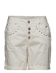 Tilde Shorts- Bailey fit - OPTICAL WHITE