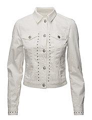 Tilde jacket long sleeve - OPTICAL WHITE