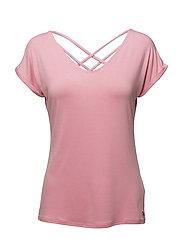 Adriana T-shirt - SEA PINK
