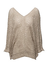 Loren Knit pullover - FEATHER GREY MELANGE