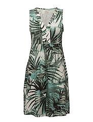 Palm Dress - FIELD GREEN