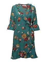 Alba Dress - LUSH GREEN