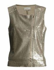 Gemma Waistcoat - Bronze Silver