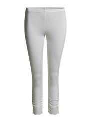 Agnes 3/4 Leggings - Optical White