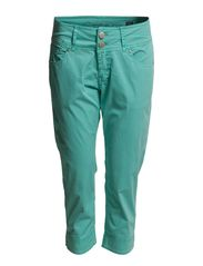 Betty Capri Pants - Pool Blue