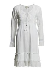 Mona Dress - Optical White
