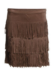 Ginna Skirt - Suede Color