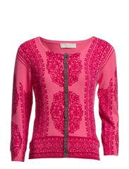 Ellie Cardigan - Pink Fuchsia