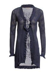 Adelina Cardigan - Grey blue
