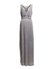Lu Dress - Thunder Grey Melange