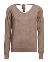 Rexa Knit Top-MIN 2 ass - Stone Brown