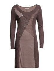 Andrea Dress - Stone Brown