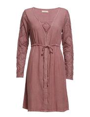 Carli Dress - Dusty Blush