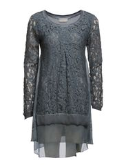 Flora Tunic - Dull Blue