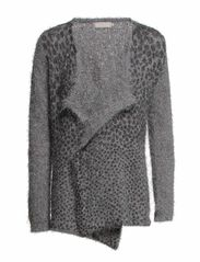 Lina Knit Cardigan - Grey Sky