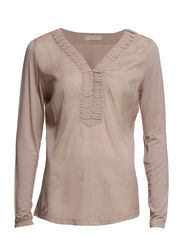 Tippy Blouse - Warm Taupe