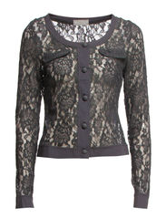 Lucinda Cardigan - Deep Grey