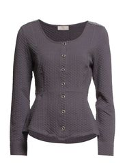 Jennifer Cardigan - Deep Grey