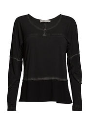 Sanne Blouse- MIN 2 ass - Black