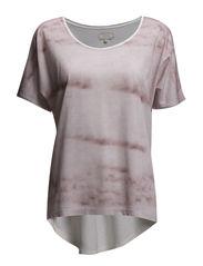 Femme T-shirt w/o print- MIN 2 - Powder Sky
