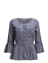 Neela Blouse - Vintage Blue