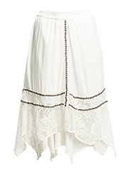 Peaky Skirt - Pale Cream