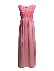 Dalia Long Dress - Sunkiss Pink