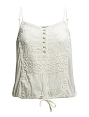 Wonda Strap Top - Pale Cream
