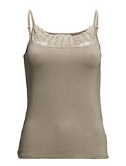 Florence Strap Top- MIN 2ass - Morning Grey