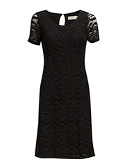 Alkira Dress - Pitch Black