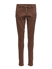Bailey twill Pants - CAPPUCCINO