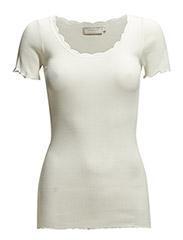 Silky SS T-shirt- MIN 2 ass - CHALK