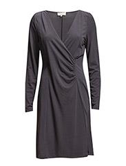 Tenna LS Dress - DARK GREY