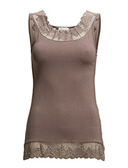 Florence Top - STONE BROWN