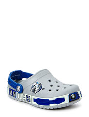 CB Star Wars R2D2 Clog - LIGHT GREY/CERULEAN BLUE
