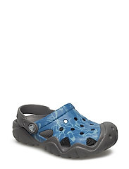Swiftwater Graphic Clog K - MULTI-COLOR BLUE