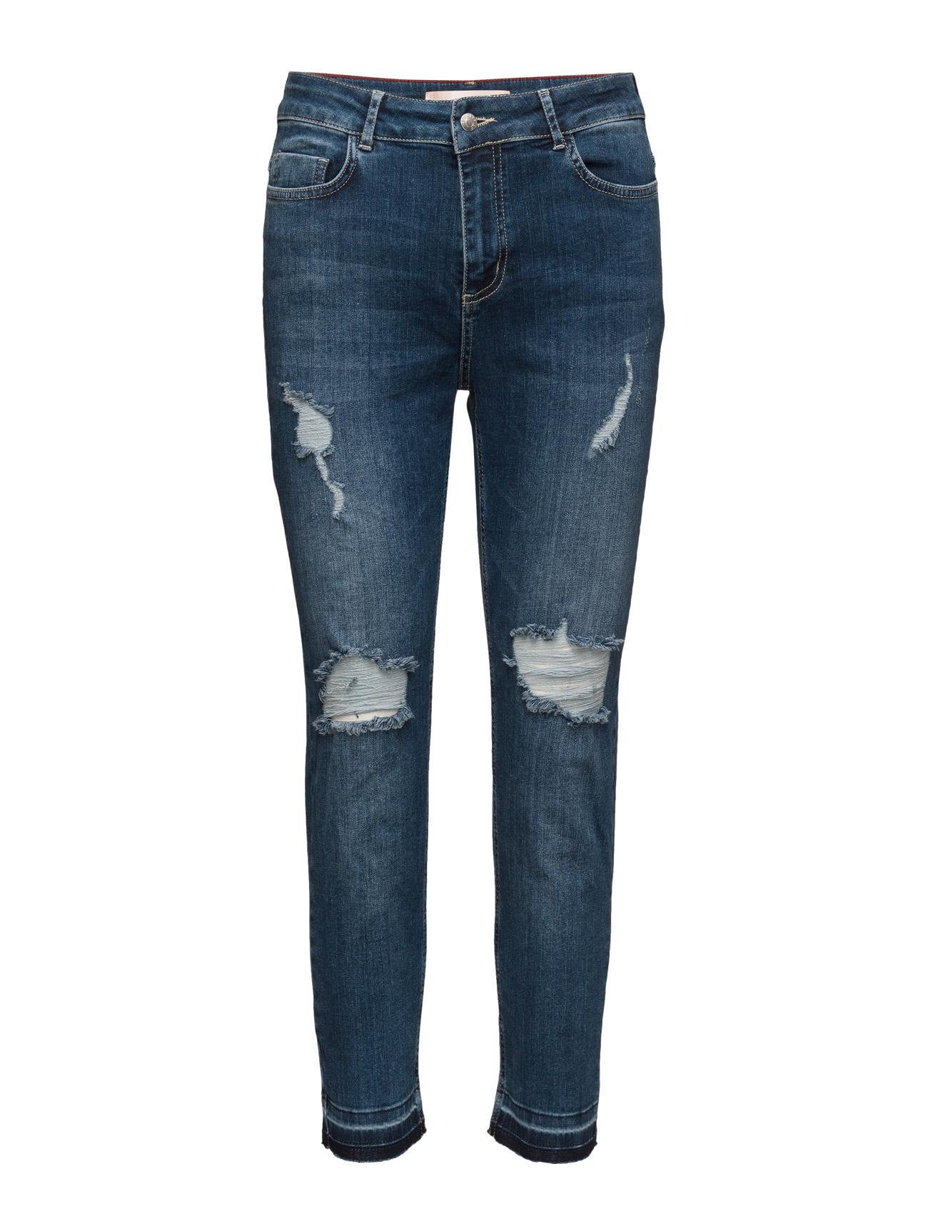 Karli Custommade Bukser til Kvinder i Navy Blazer
