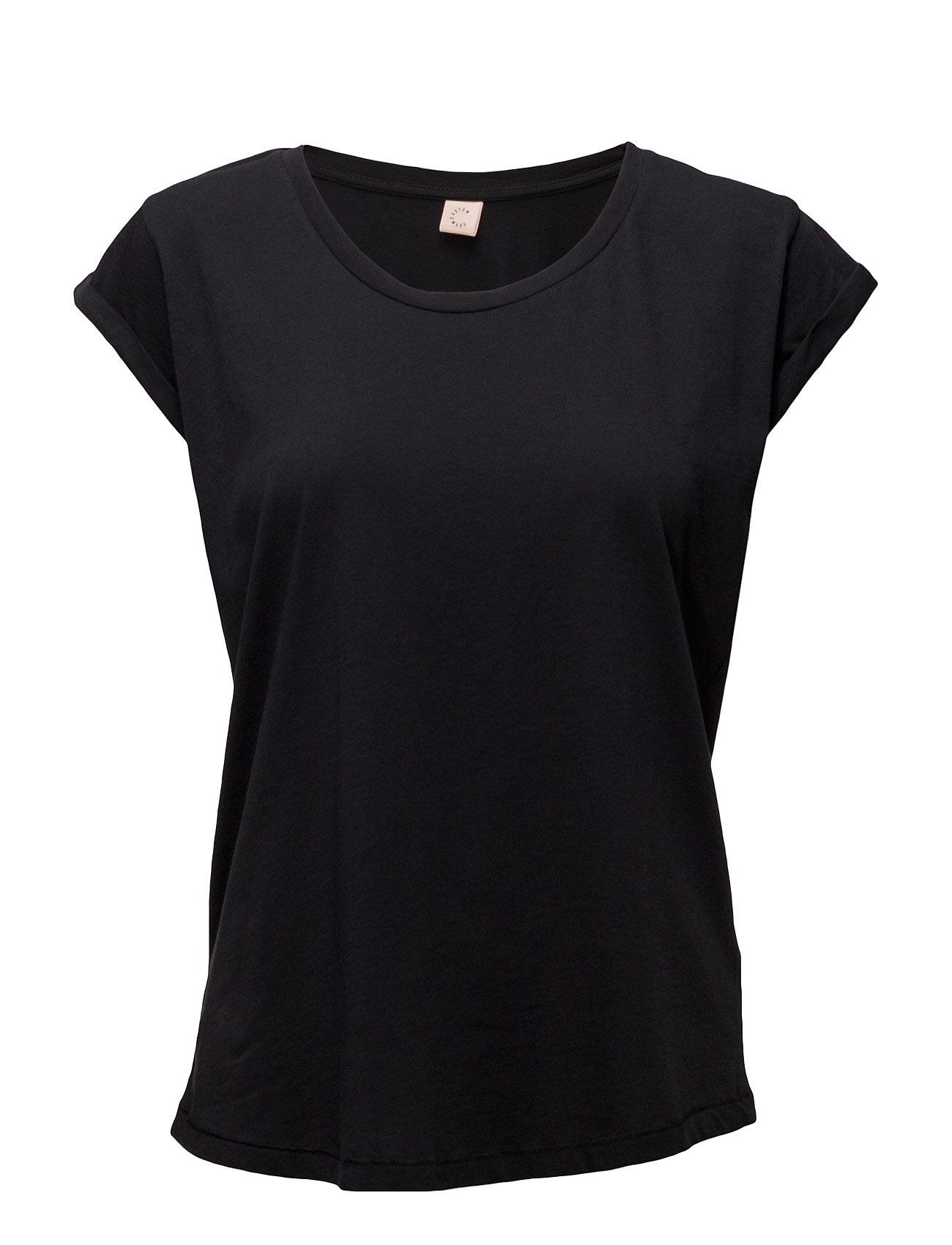 Lonnie Custommade T-shirts & toppe til Kvinder i Antracit sort