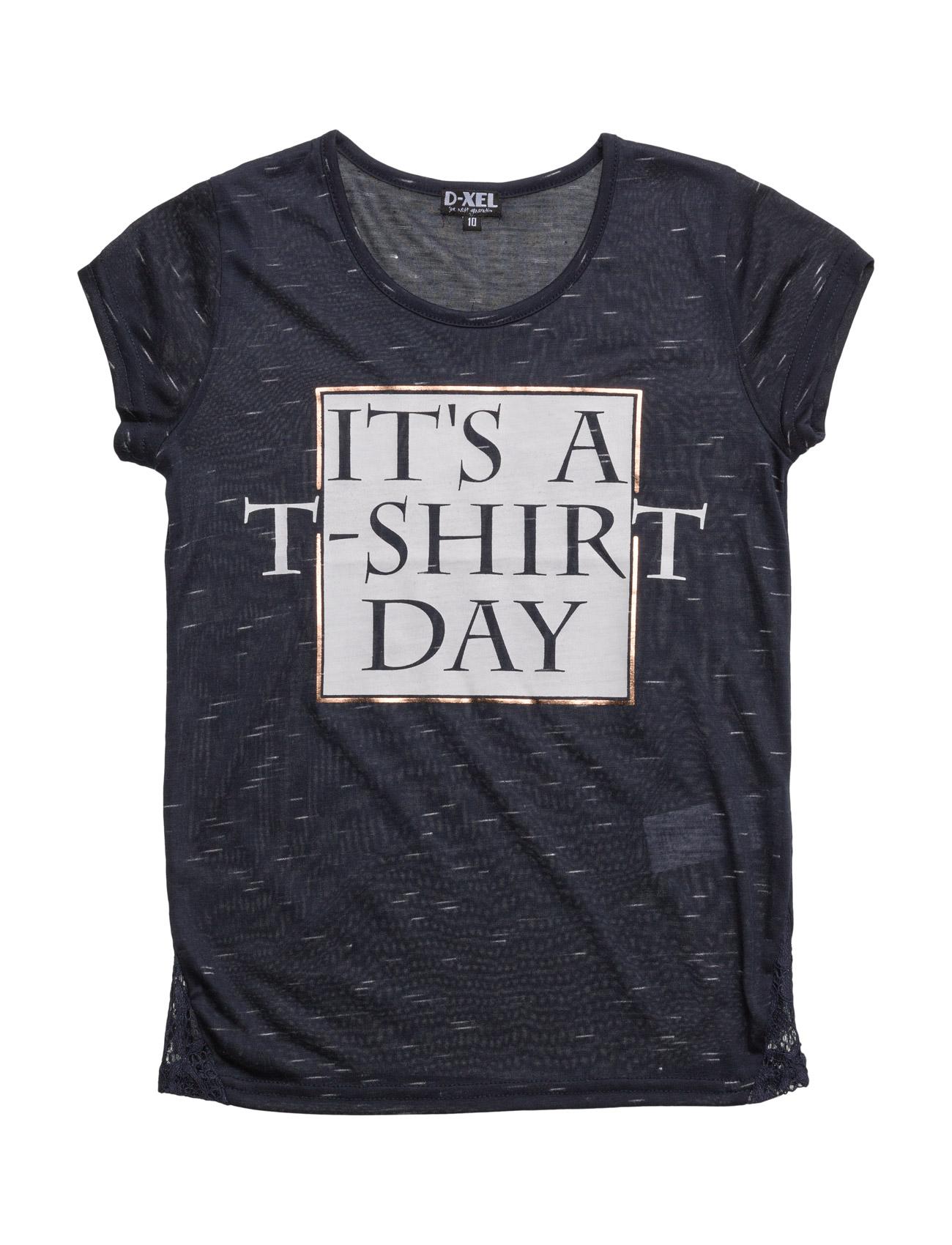 Filo T-Shirt D-xel Kortærmede t-shirts til Børn i Navy blå