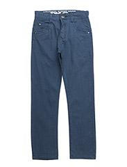 LUKE TWILL PANTS - BLUE INDIGO
