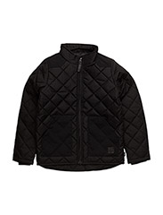 VILAS QUILTED JACKET - BLACK