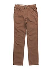 LUKE TWILL PANTS - TOASTED