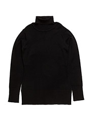 NETTE KNIT BLOUSE - BLACK