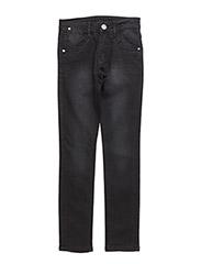 RAGE DENIM PANTS - CLOUDED BLACK