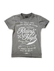 T-shirt IGEN - ZINC GREY